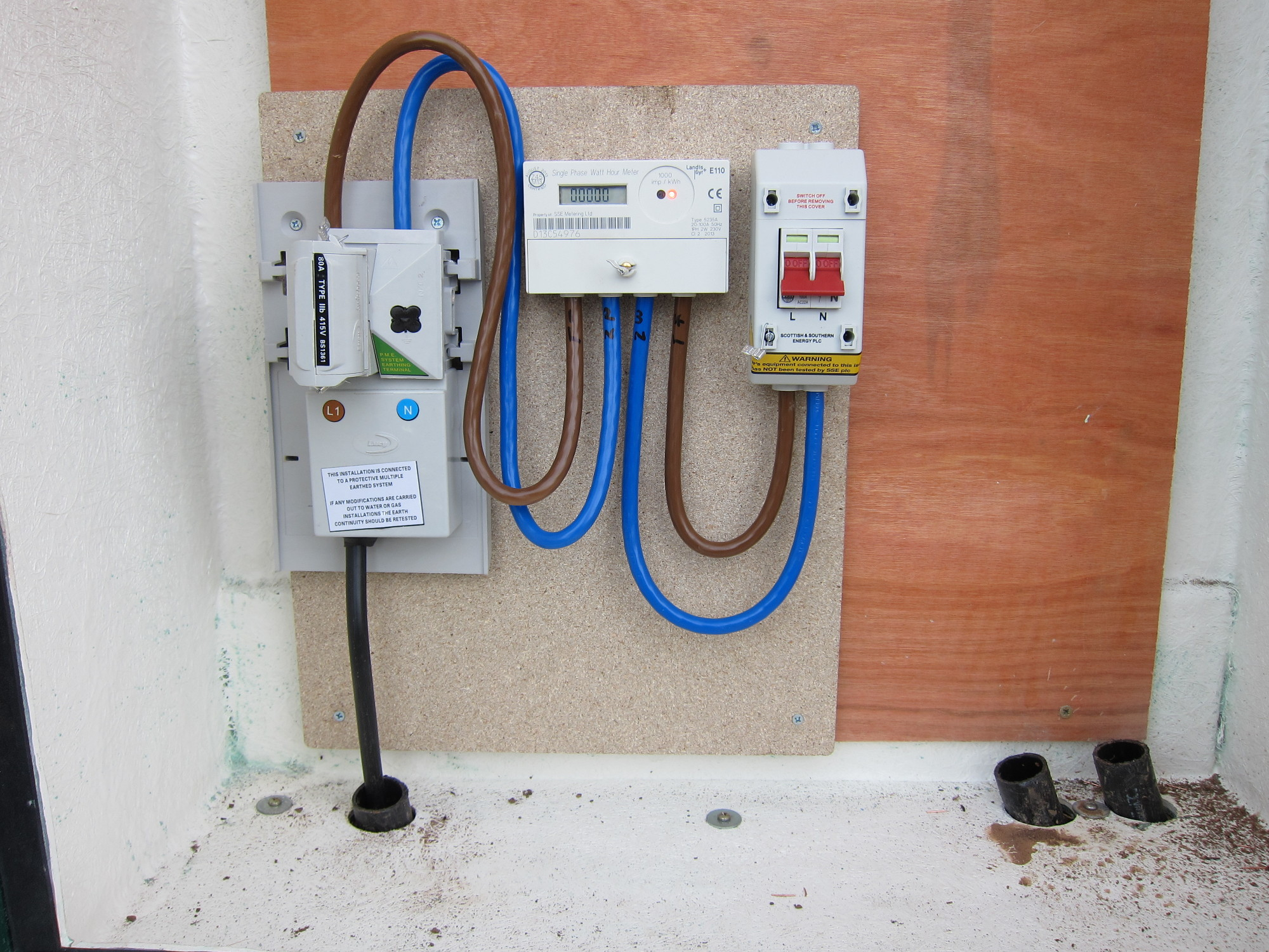 Electrical Installations Peeko Residential Home Wiring Main Box New Build Electrics A